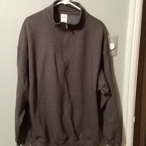 Gildan men's dark gray sweater
